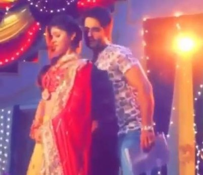 Shakti: Harman and Soumya's romantic dance in Muhdikhayi function